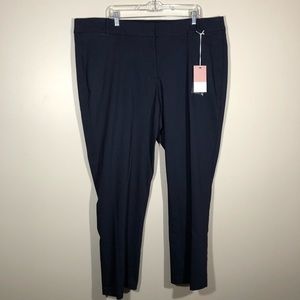 NWT Lane Bryant 'The Allie'' Straight Pants SZ 24R
